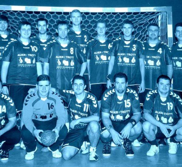 Mannschaftstrikots von Auer und Trott für Dielheimer Handballmannschaft